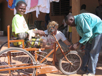 Providing Mobility & Sight Tools (Part II) - West Africa